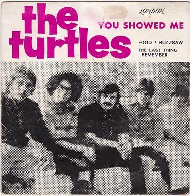 "TURTLES, THE - YOU SHOWED ME E.P. Portuguese pressing (7"")"