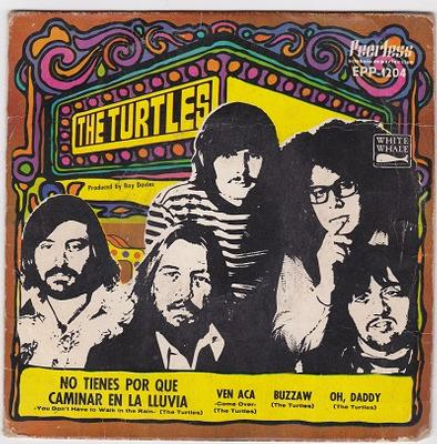 """TURTLES, THE - YOU DON'T HAVE TO WALK IN THE RAIN E.P. Mexican pressing (7"""")"""