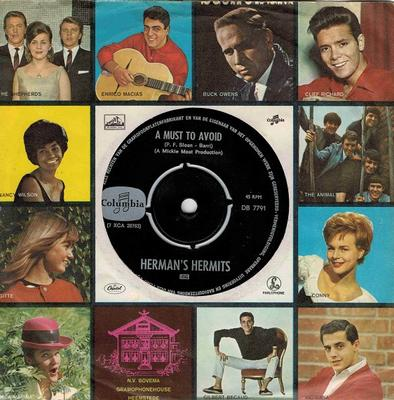"""HERMAN'S HERMITS - A MUST TO AVOID / The Man With The Cigarr (7"""")"""