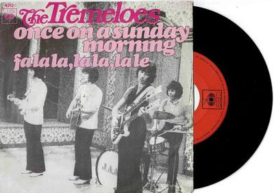 """TREMELOES, THE - ONCE A SUNDAY MORNING / Fa La La, La La, La Le (7"""")"""