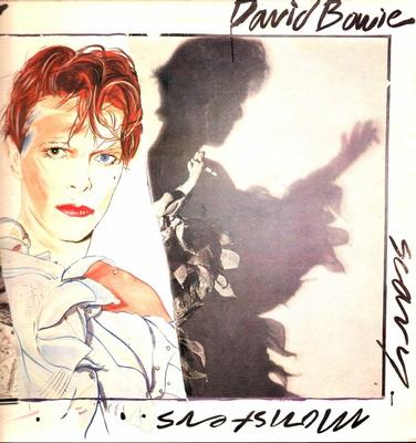 BOWIE, DAVID - SCARY MONSTERS UK Original Pressing With Booklet (LP)