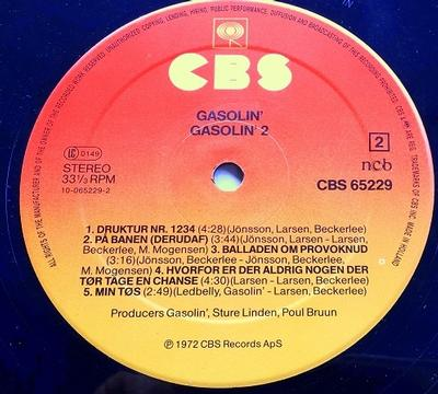 GASOLIN'' 2 Dutch Original Pressing