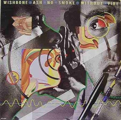 WISHBONE ASH - NO SMOKE WITHOUT FIRE (U.S.) (LP)