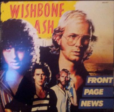 WISHBONE ASH - FRONT PAGE NEWS Swedish pressing (LP)