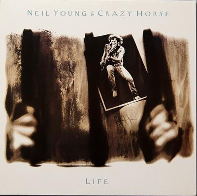 YOUNG, NEIL & CRAZY HORSE - LIFE German Pressing (LP)