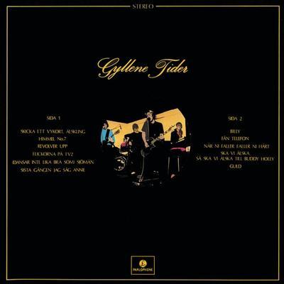 GYLLENE TIDER - GYLLENE TIDER Comes With Innersleeve (LP)