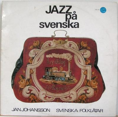 JOHANSSON, JAN - JAZZ PÅ SVENSKA Original Pressing With Red Labels (LP)