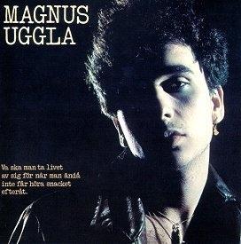 """UGGLA, MAGNUS - VA SKA MAN TA LIVET AV SIG FÖR NÄR MAN ÄNDÅ INTE FÅR HÖRA SNACKET EFTERÅT With innersleeve & bonus 7"""" (LP)"""