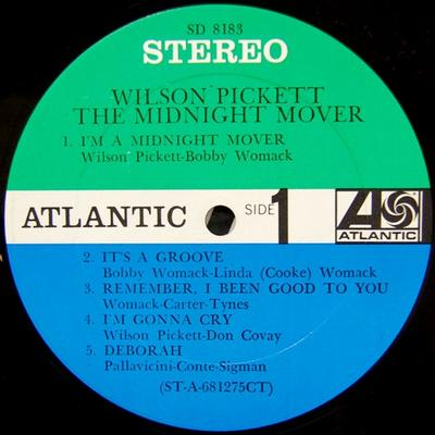 THE MIDNIGHT MOVER US Pressing