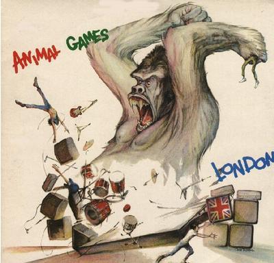 ANIMAL GAMES Swedish Pressing