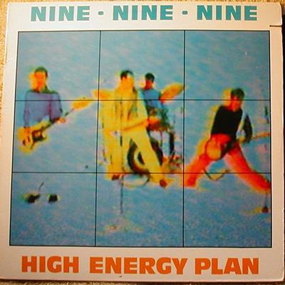 HIGH ENERGY PLAN Yellow & Blue Label
