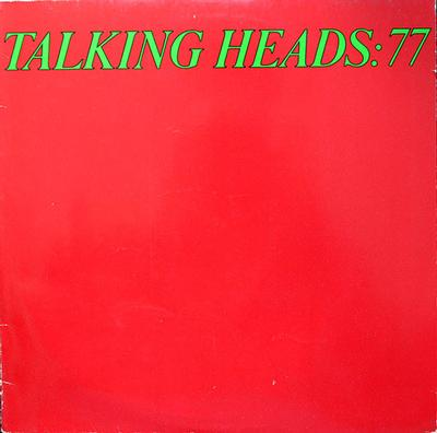 TALKING HEADS - TALKING HEADS: 77 German Original Pressing With Innersleeve (LP)