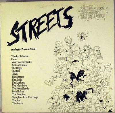 STREETS (SELECT HIGHLIGHTS FROM INDEPENDENT BRITISH LABELS) Rare