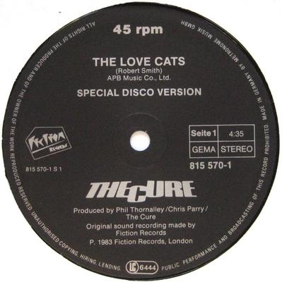 THE LOVE CATS German Pressing