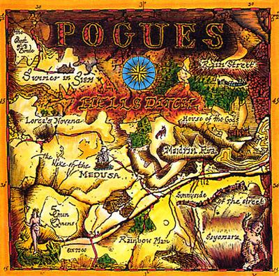 POGUES, THE - HELL'S DITCH Dutch Pressing With Innersleeve (LP)