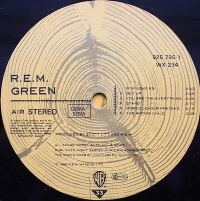 GREEN UK Pressing