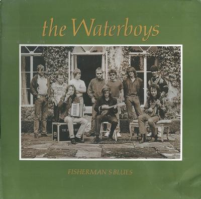WATERBOYS, THE - FISHERMAN''S BLUES Swedish pressing (LP)