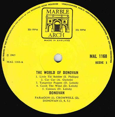 THE WORLD OF DONOVAN