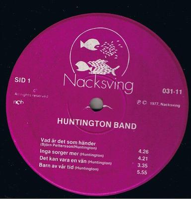 HUNTINGTON BAND