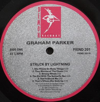 STRUCK BY LIGHTNING Comes With Bonus LP