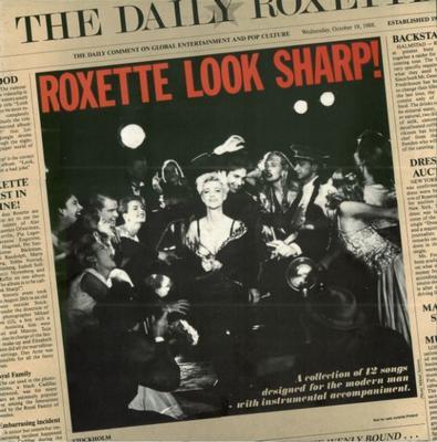 ROXETTE - LOOK SHARP! Swedish pressing, thin paper inner sleeve (LP)