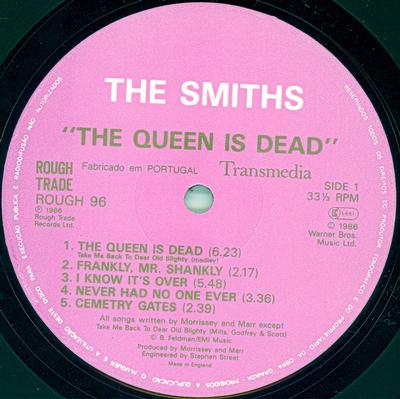 THE QUEEN IS DEAD Portugese Pressing