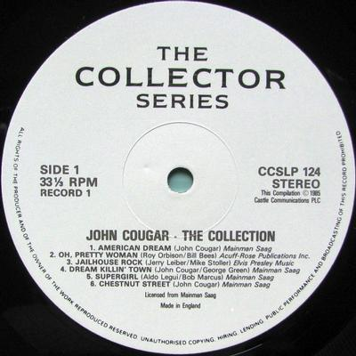 THE COLLECTION UK Pressing
