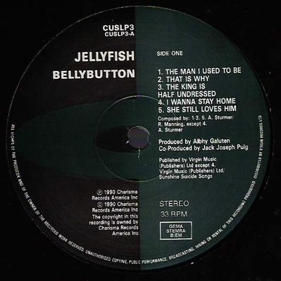 BELLYBUTTON European Pressing - Comes With Original Innersleeve