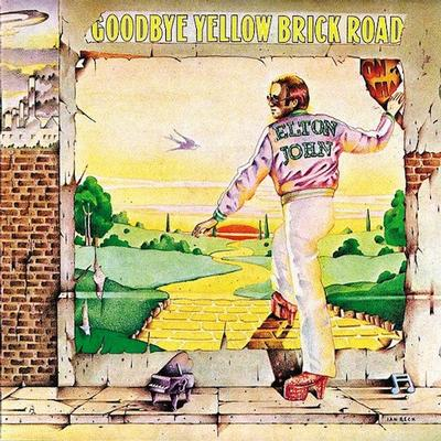 GOODBYE YELLOW BRICK ROAD Yellow Vinyl Edition