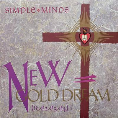 SIMPLE MINDS - NEW GOLD DREAM (81-82-83-84) Canadian edition (LP)