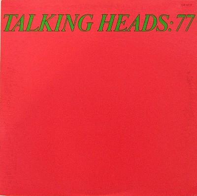 TALKING HEADS: 77 US Pressing - With Innersleeve