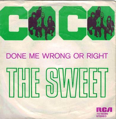 CO-CO / Done Me Wrong All Right