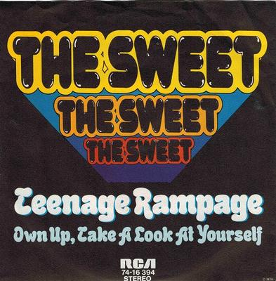 TEENAGE RAMPAGE / Own Up, Take A Look At Yourself