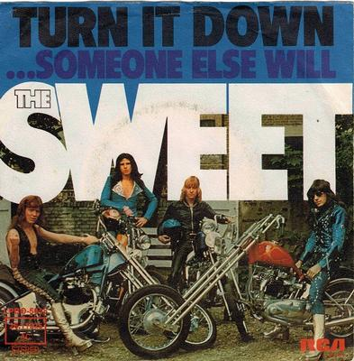 TURN IT DOWN / Someone Else Will