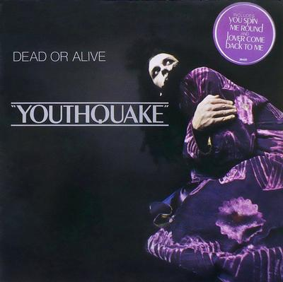 """DEAD OR ALIVE - YOUTHQUAKE Dutch pressing. Classic album, """"You spin me round"""" a.o. (LP)"""