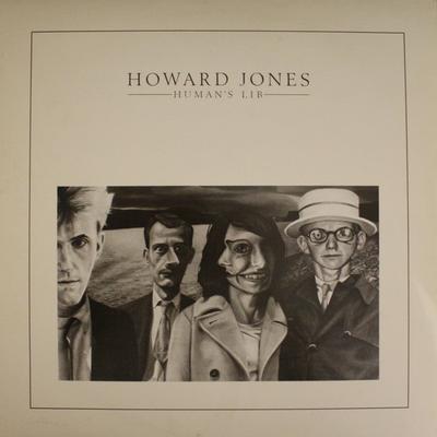 JONES, HOWARD - HUMAN''S LIB German pressing. Great classic synthpop album! (LP)