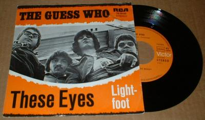 "GUESS WHO, THE - THESE EYES (7"")"