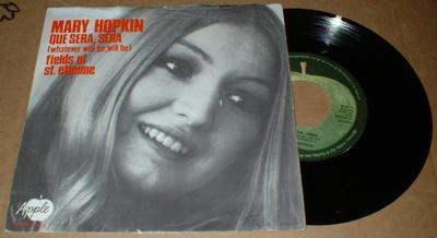 """HOPKIN, MARY - QUE SERA, SERA (7"""")"""