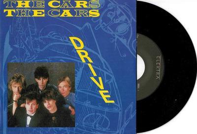 "CARS, THE - DRIVE / STRANGER EYES German ps (7"")"