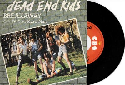 """DEAD END KIDS - BREAKAWAY / I''m Your Music Man Glam, Bay City Rollers style (7"""")"""