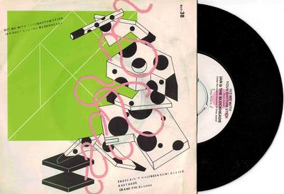 """IAN DURY  &  THE BLOCKHEADS - HIT ME WITH YOUR RHYTHM STICK / There Ain''t Half Been Some Clever Bastards (7"""")"""