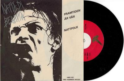 """NATTA DI BESATTA - FRAMTIDEN ÄR VÅR / Nattfolk Produced by Henryk Lipp from Blue for Two (7"""")"""