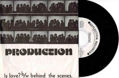"""PRODUCTION - IS LOVE? / Behind The Scenes 1977 US New wave / powerpop (7"""")"""
