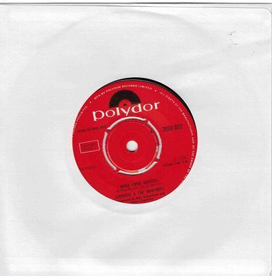 "SIOUXSIE AND THE BANSHEES - HONG KONG GARDEN UK original , Debut single (7"")"