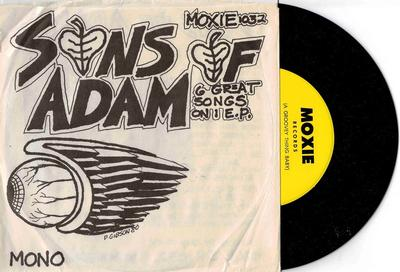 """THE SONS OF ADAM - YOU''RE A BETTER MAN THAN I Rare Ep with 60´s recordings. (7"""")"""