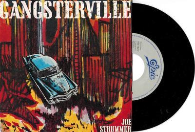 """STRUMMER, JOE - GANGSTERVILLE / Jewellers & Bums (7"""")"""