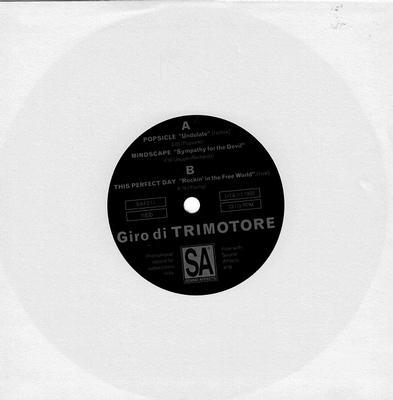 """VARIOUS ARTISTS (POP / ROCK) - GIRO DI TRIMOTORE (7"""")"""
