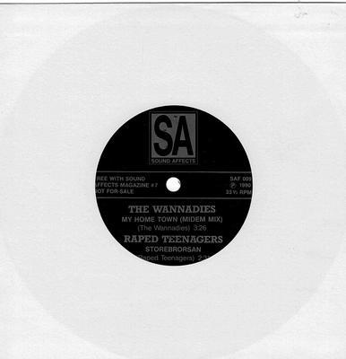 "VARIOUS ARTISTS (POP / ROCK) - SOUND AFFECTS MUSIC MAGAZINE #7 (7"")"