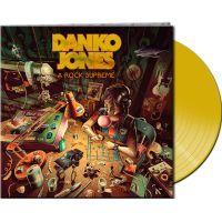 DANKO JONES - A ROCK SUPREME (CLEAR YELLOW VINYL) (LP)