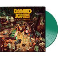 DANKO JONES - A ROCK SUPREME (CLEAR GREEN VINYL) (LP)